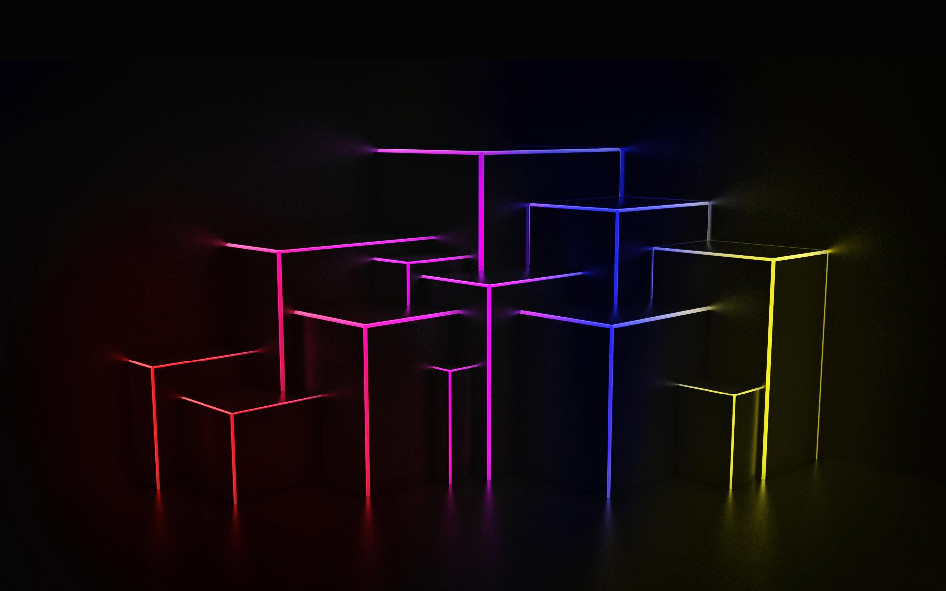 Фигуры свет цвета  № 3528358 без смс