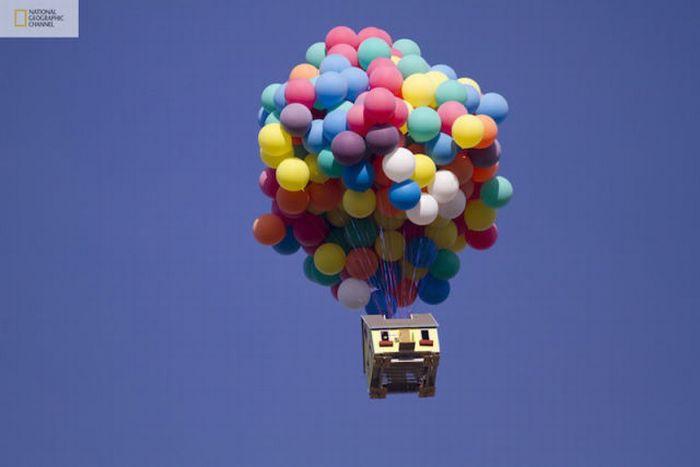 """Дом летающий на воздушных шарах """" Xenomorph"""