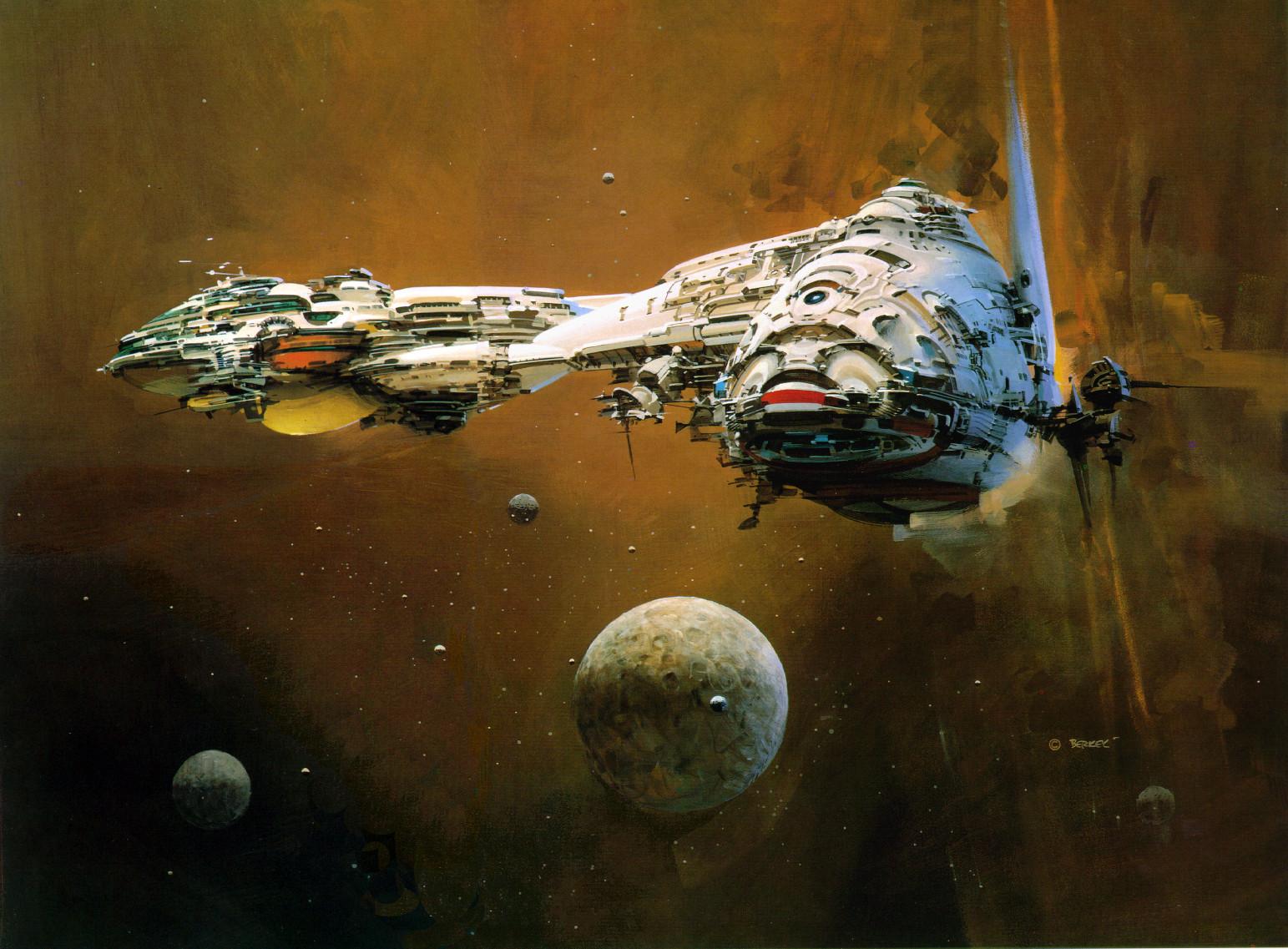 Spaceships космические корабли и прочая