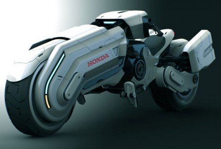 Honda Chopper Concept by Peter Norris