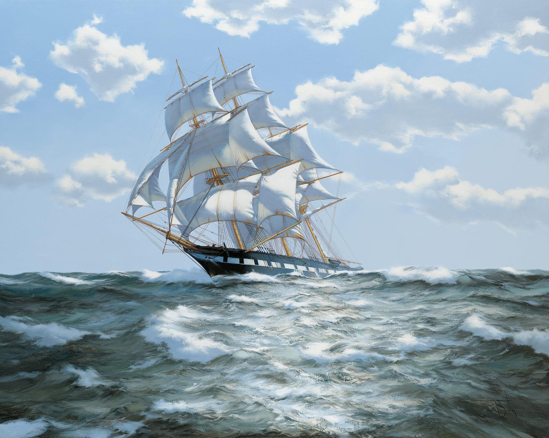 картинки с морскими кораблями перед