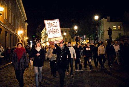 Таллинн Zombie Walk (Эстония)