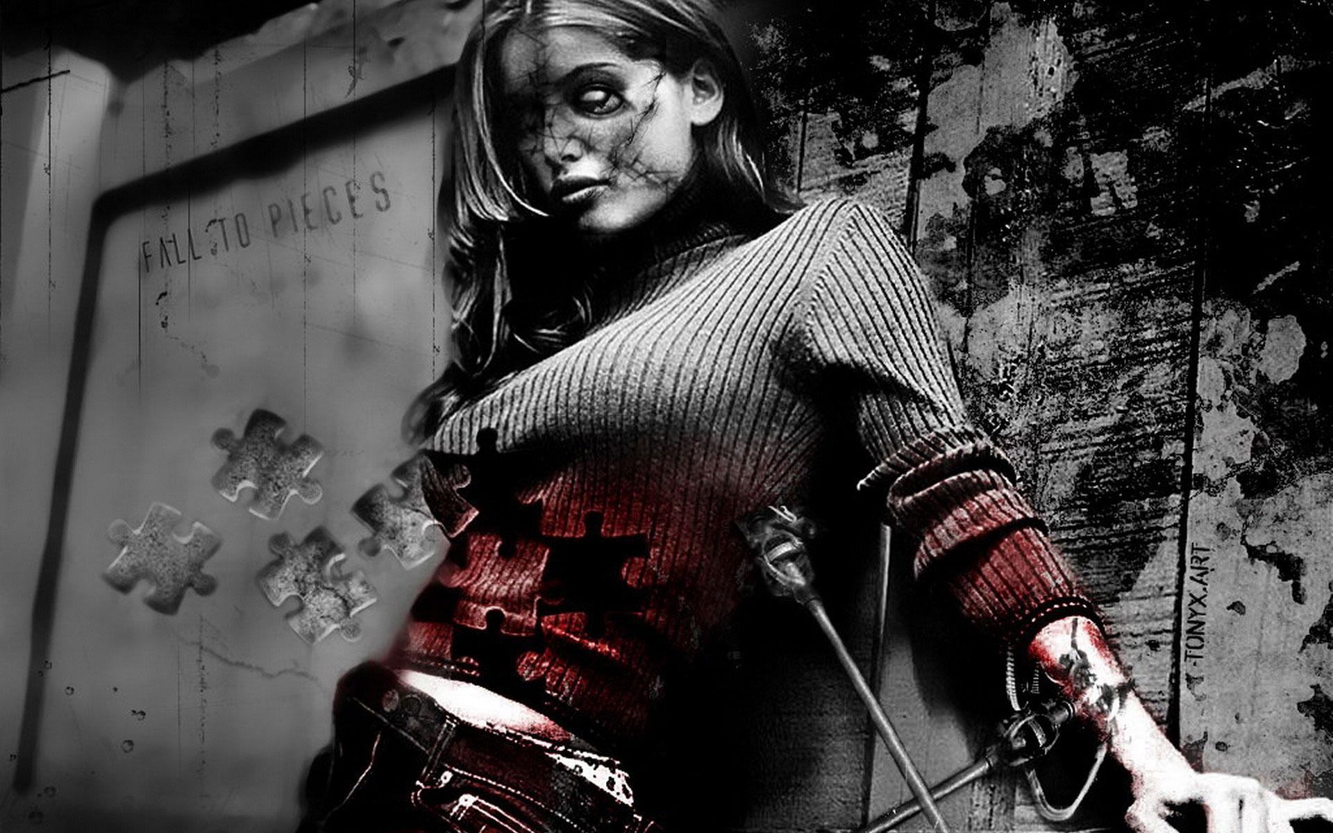 Zombie girls pics smut film