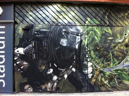 Граффити на улицах Лондона