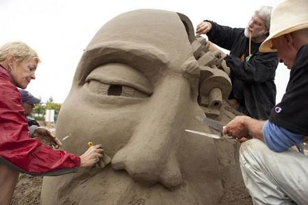 Чемпионат мира по созданию скульптур из песка
