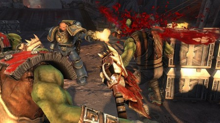 Warhammer 40000: Space Marine - пришел, увидел, раздавил