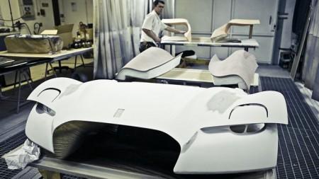 Создание концепткара Citroen Survolt Concept