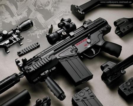 Не менее шикарные винтовки