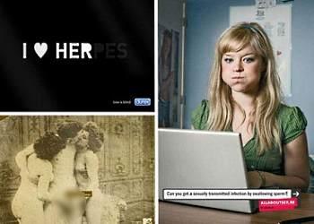 Креативная реклама о сексе