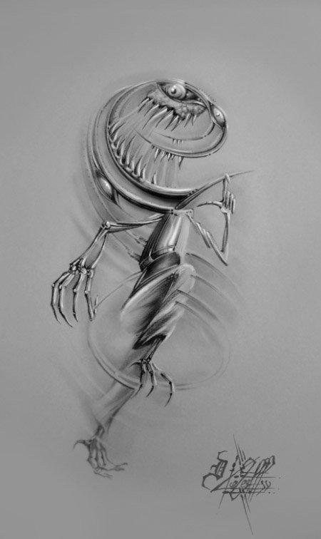Мистические тату художника под ником Ариец