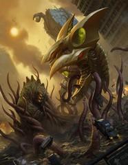 Монстры и Роботы против Землян