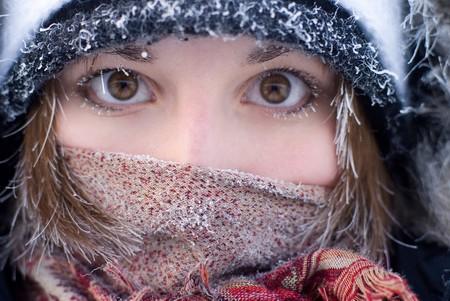 Зима старит женщин на 5 лет