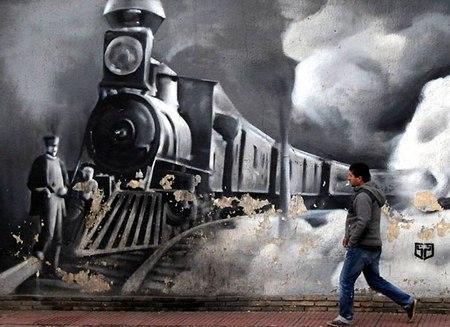 Графити в Афинах (Греция)