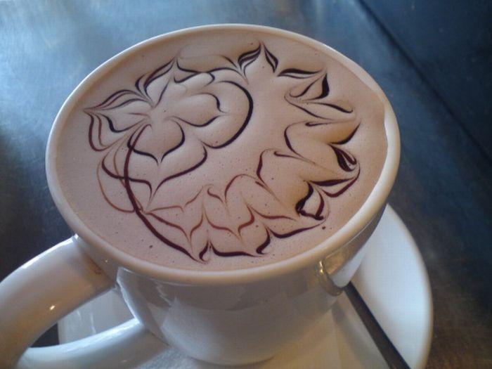 Кофе украсить на новый год