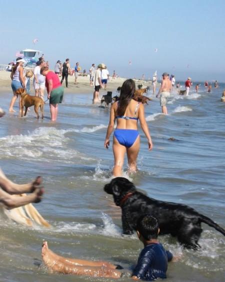 частное фото пляж девушки