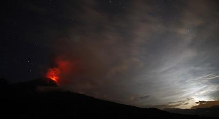 Вулканическая активность в 2011