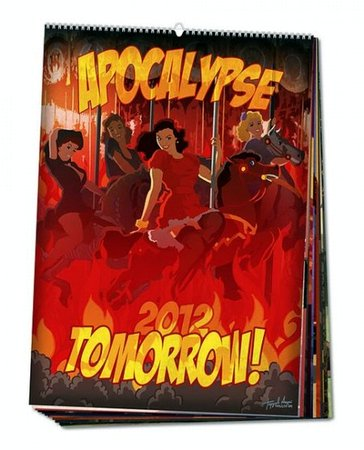 Апокалипсис завтра - календарь на 2012 год