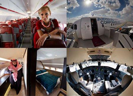Бахрейнский авиасалон: Интерьеры самолетов