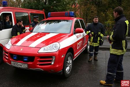 самые быстрые пожарники живут в России