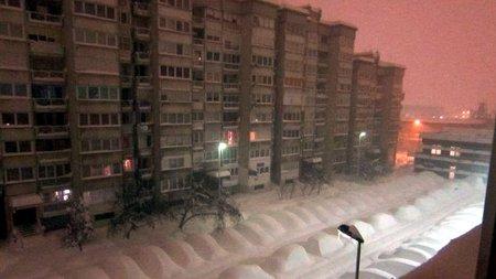 В Сараево слишком много снега