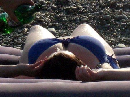 Кадры с пляжа