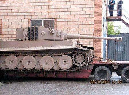 Немецкий танк Тигр VI