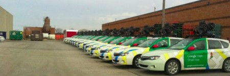 Google Street Car - Impreza