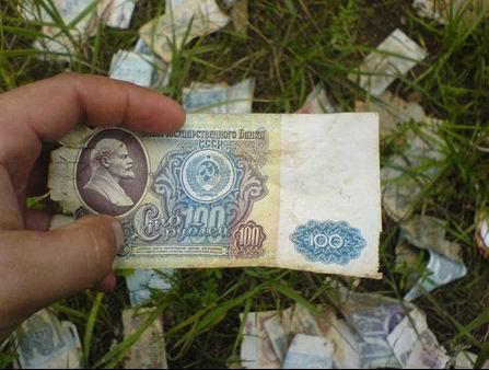 Кладбище советских миллионов...