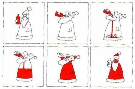 почему дед мороз красный
