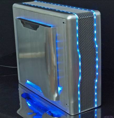 Самодельный моддинг компьютера в алюминиевом корпусе