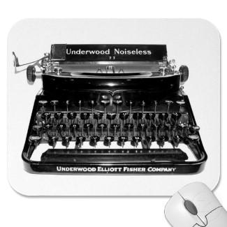 Клавиатура в виде печатной машинки