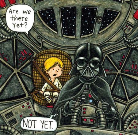 Darth Vader - хороший папаша!