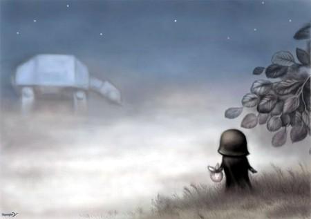Вєйдєр в тумане!