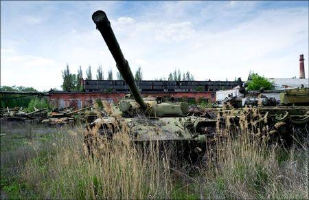 Заброшенный танкоремонтный завод