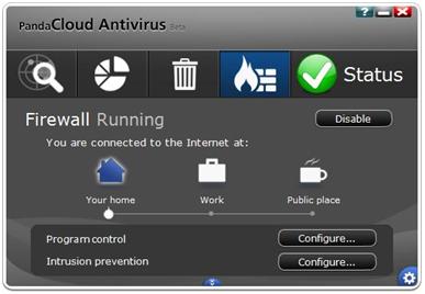 Panda Cloud Antivirus и Windows 8