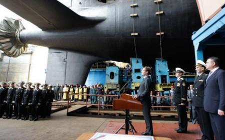 Многоцелевая атомная подводная лодка четвертого поколения