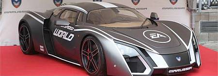 Marussia появится в серии Need for Speed