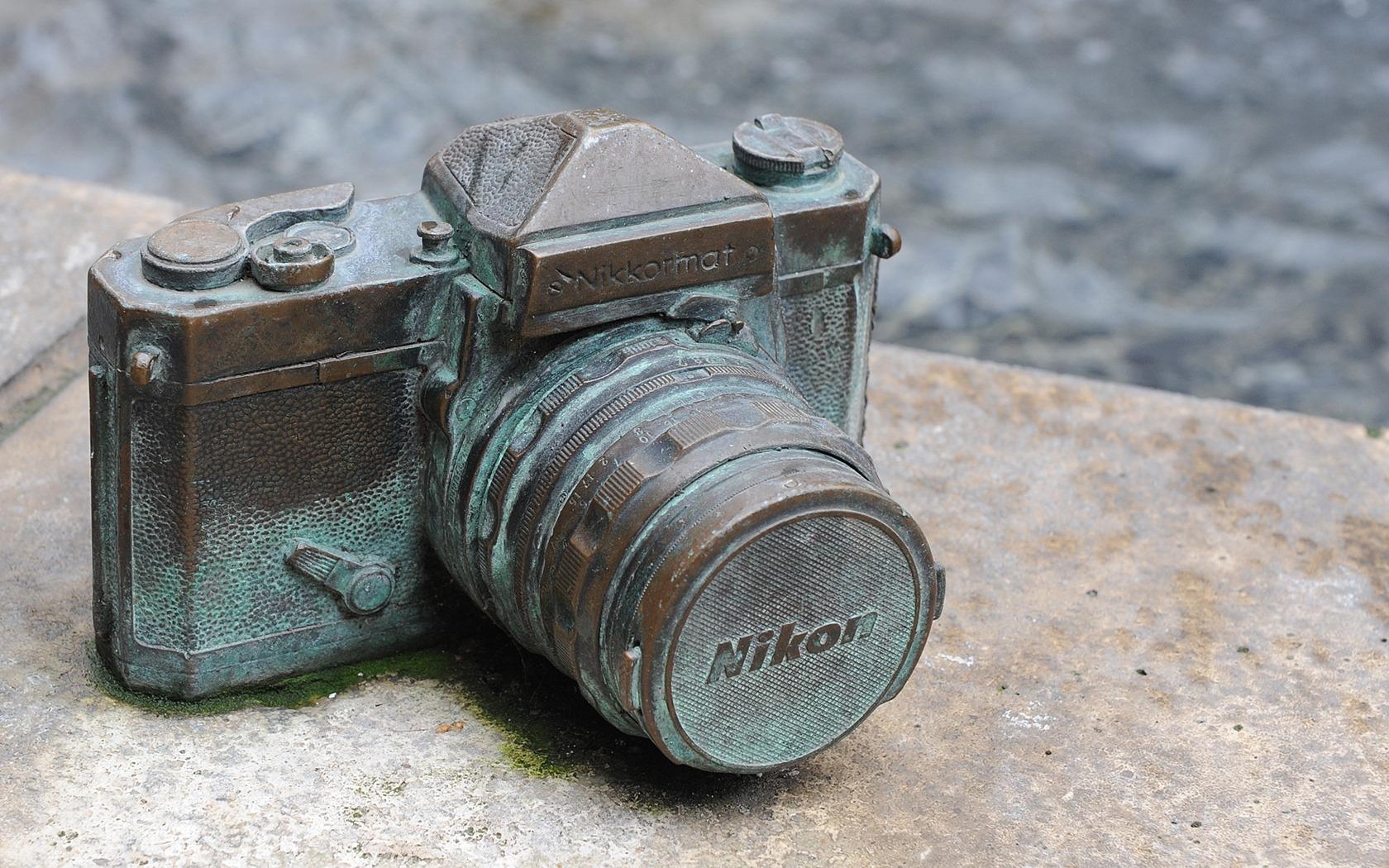 Фотоаппарат Nikon старый  № 3624410 бесплатно