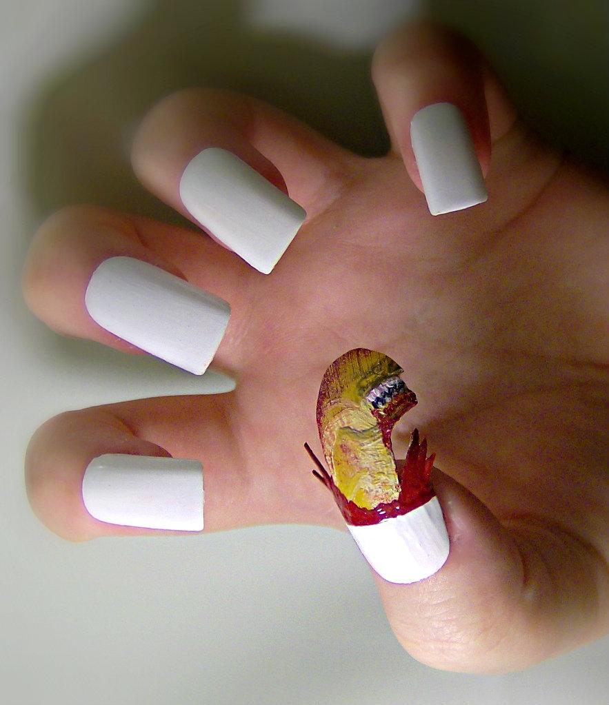 Самый оригинальный дизайн ногтей