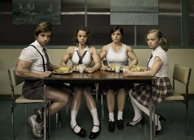Девушки, которые очень любили спорт (7 фото). спорт, фото, дети