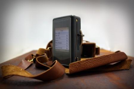 Концептуальный дисковый стимпанк-смартфон