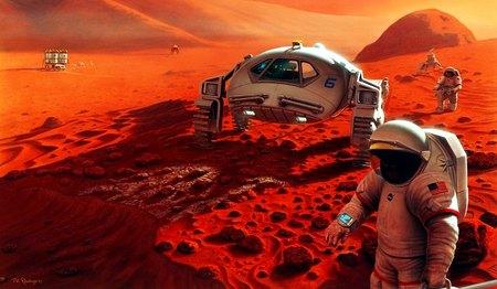 Первых людей высадят на Марсе в 2023 году но они не вернутся