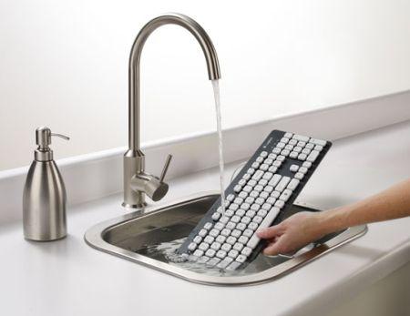 Моющаяся клавиатура Logitech