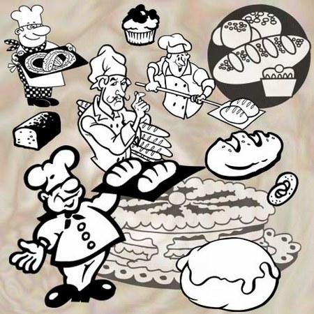Суровый пекарь кондитер!!!