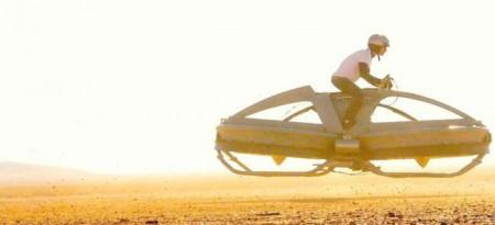 Aerofex создала летающий мотоцикл в стиле Star Wars (обновлено)