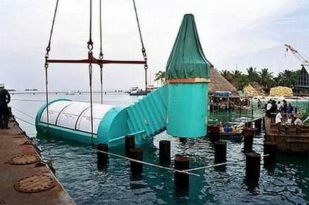 Подводная кафешка