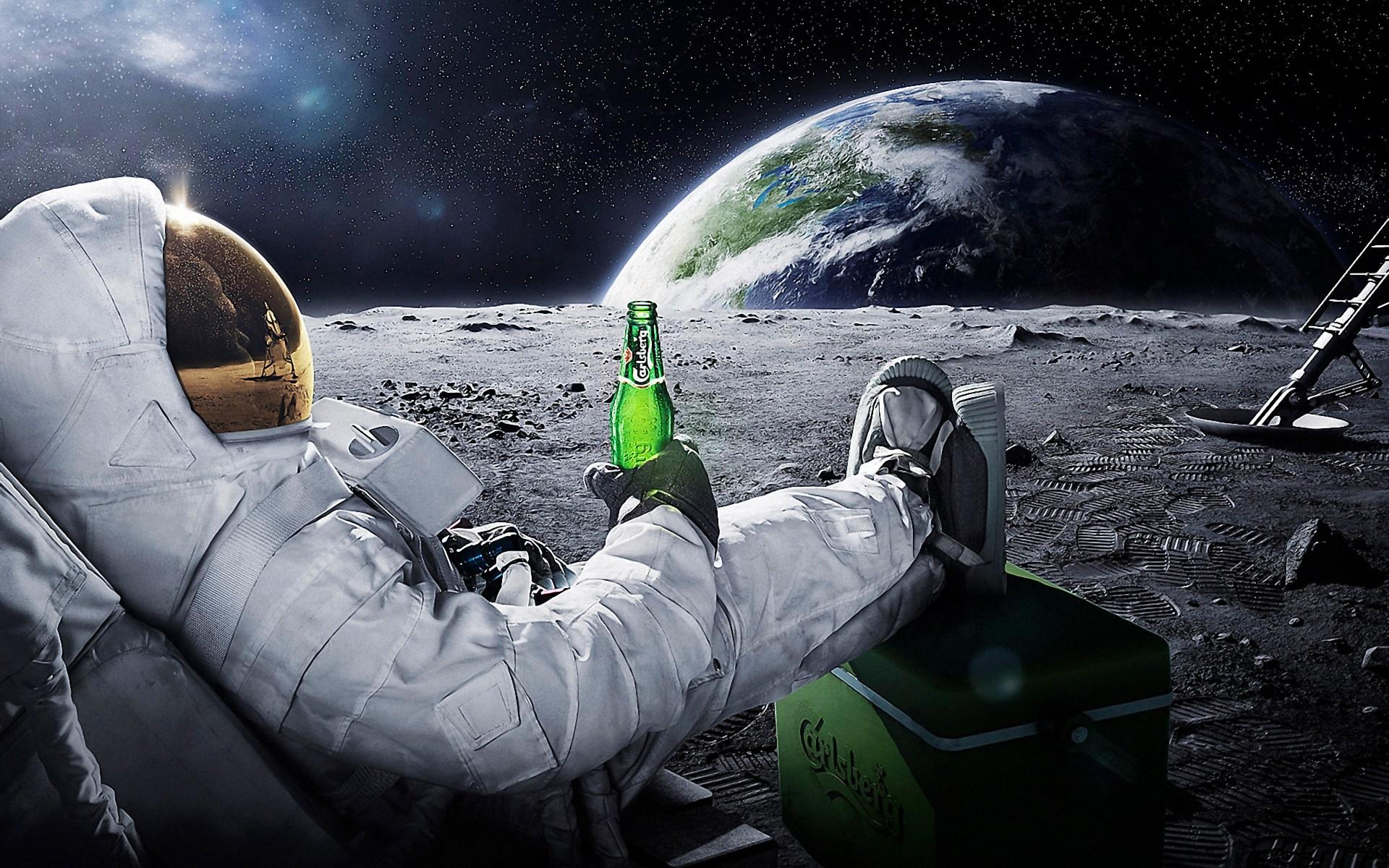 космос трава космонавт space grass astronaut бесплатно