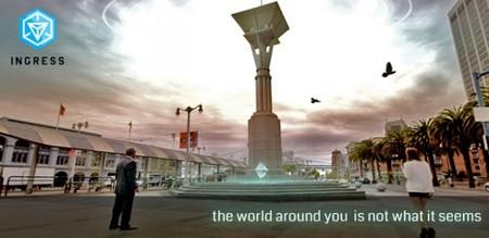 Игра Ingress от Google выведет геймеров на улицы