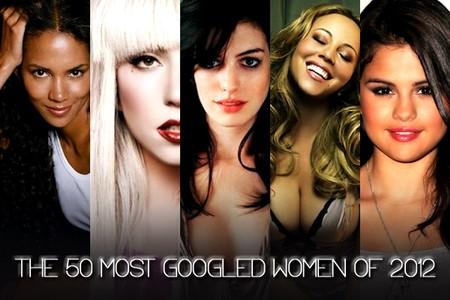 The 50 Most Googled Women of 2012