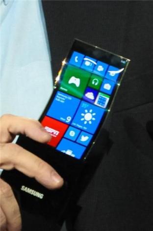Прототип смартфона с гибким OLED-дисплеем